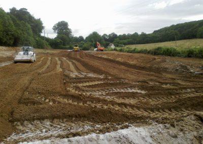 chantier prépa terrassem